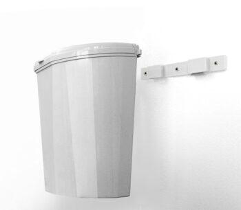 Cestino Pillar XL 10l bianco