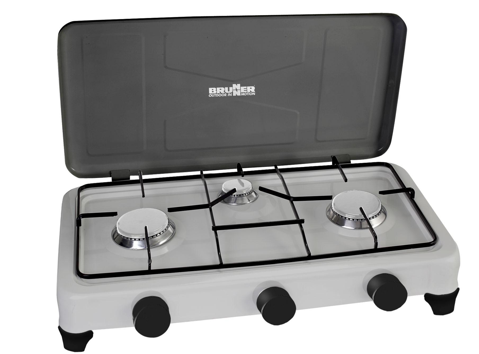 Fornello aristo 3 fuochi gas 0708031n - Aerazione gas cucina ...