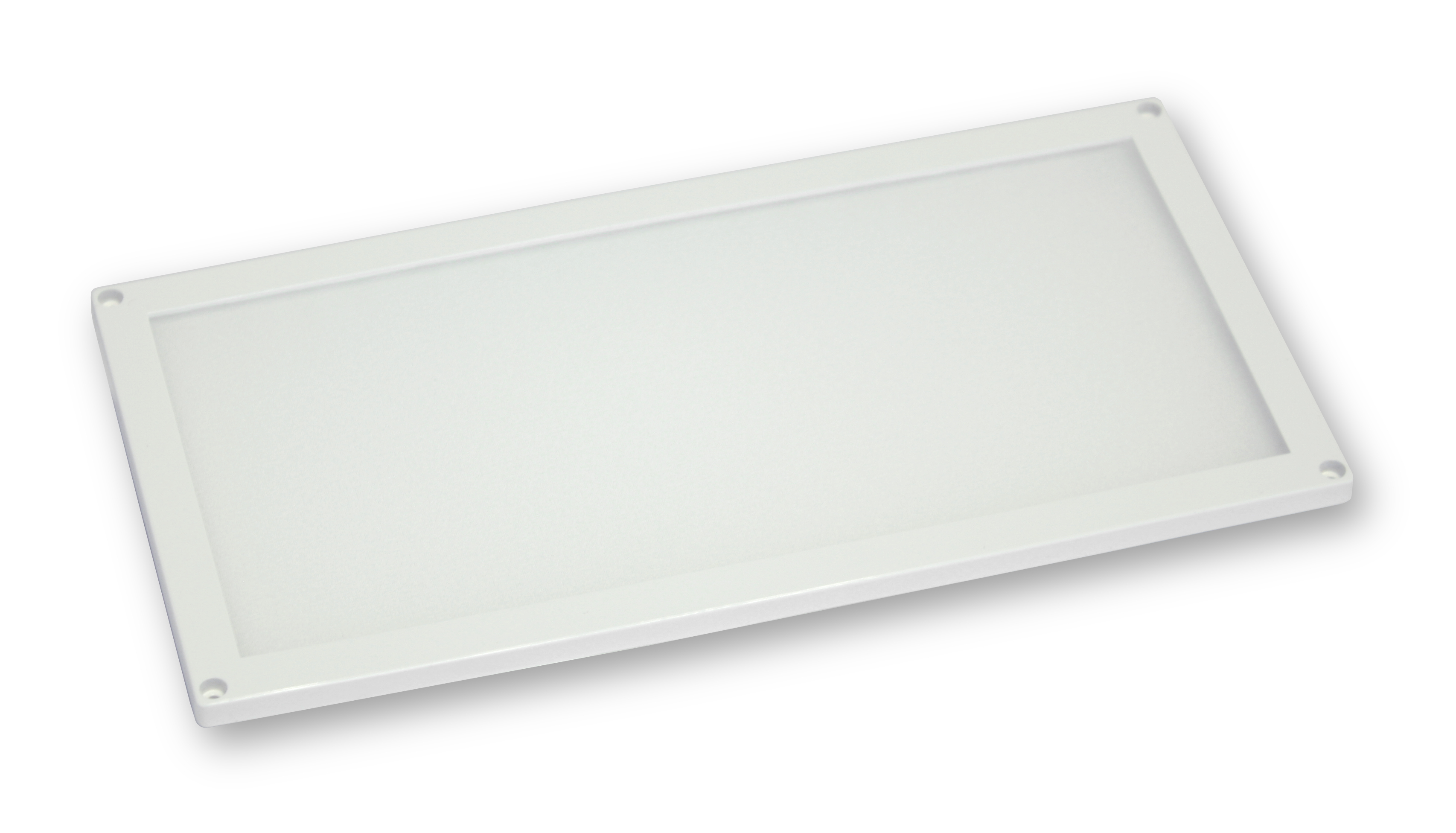 Plafoniere Slim Led Calda : Plafoniera slim mm bianca pan b