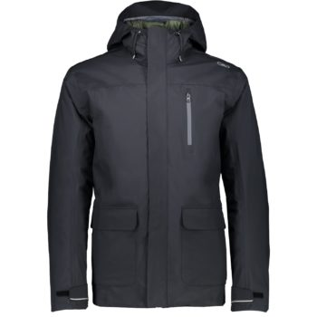 GIACCA HOODIE INTERNO STACCABILE CMP ANTRACITE 3Z28377