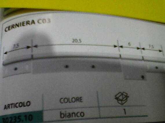 CERNIERA C 03 BIANCA