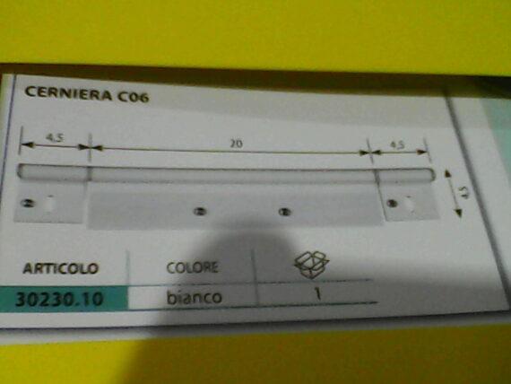 CERNIERA BIANCA X PORTA C 06