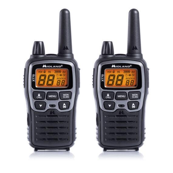 RADIO XT-70 COPPIA MIDLAND|RADIO XT-70 COPPIA MIDLAND|RADIO XT-70 COPPIA MIDLAND