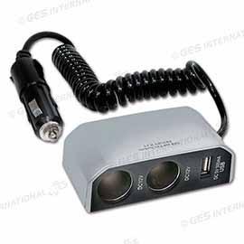 PRESA DOPPIA 12V C/USB