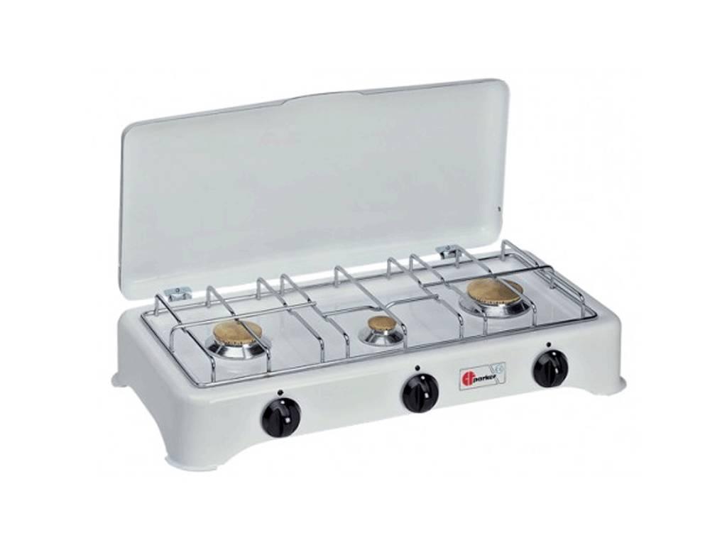 Fornello multigas 3 fuochi parker pfo027bgmu - Aerazione gas cucina ...
